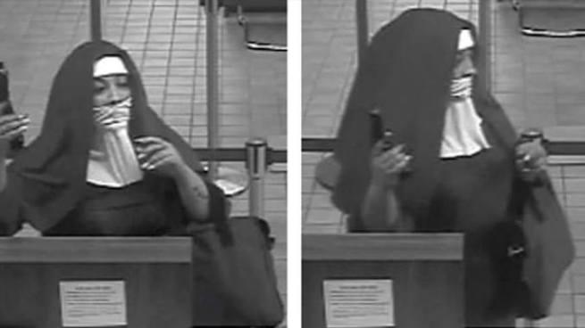 Dos mujeres vestidas de monjas intentaron robar un banco en Estados Unidos