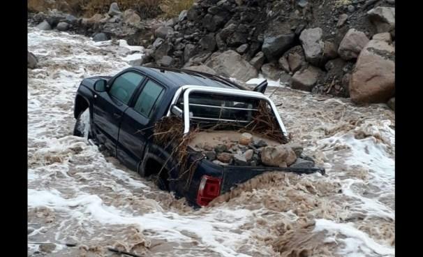 Dos personas mueren tratando de cruzar el río Rapel en Chile