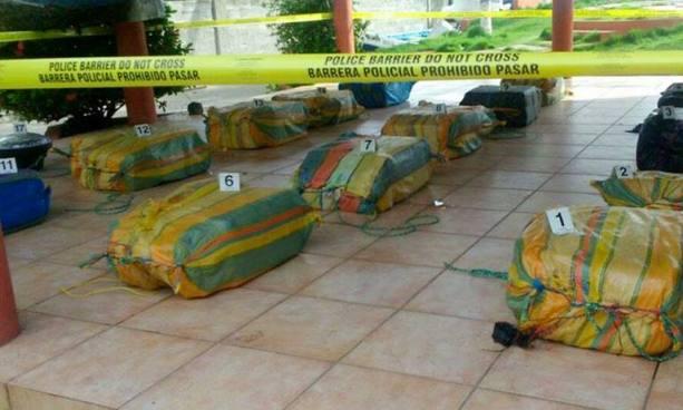 Autoridades decomisaron 7.9 toneladas de droga durante este año