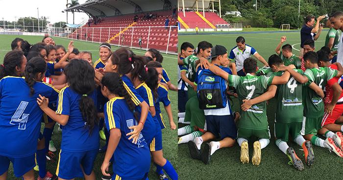 El Salvador se corona campeón de los juegos CODICADER en fútbol masculino y femenino
