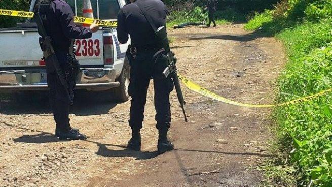 Delincuentes asesinan a elemento del CAM en finca Santa Elena, Nuevo Cuscatlán