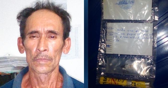 """Policía captura al """"Titiñorra"""", un comerciante de droga que operaba en La Unión"""