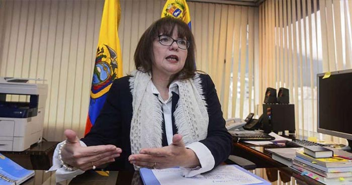 Ecuador expulsa a embajadora de Venezuela por expresiones ofensivas contra el presidente