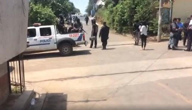 Intercambio de disparos entre policías y pandilleros deja dos terroristas muertos en Izalco