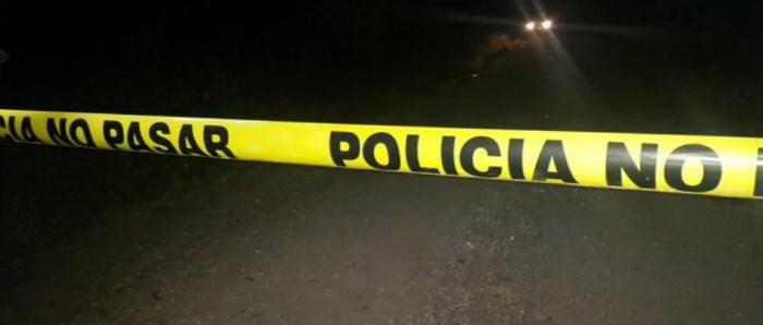 Un pandillero muerto tras intercambio de disparos con la PNC en Yucuaiquín, La Unión
