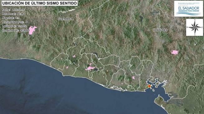 Más de 60 sismos por enjambre sísmico en Conchagua, La Unión