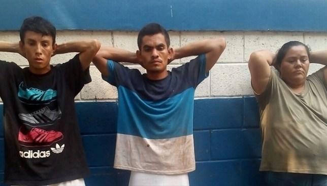 """Capturan en flagrancia a pandilleros cuando recogían la """"renta"""" en Izalco"""