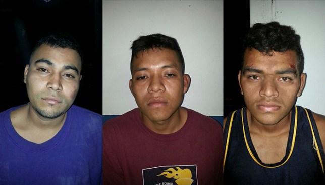 Atrapan en flagrancia a tres extorsionistas en Guaymango Ahuachapán