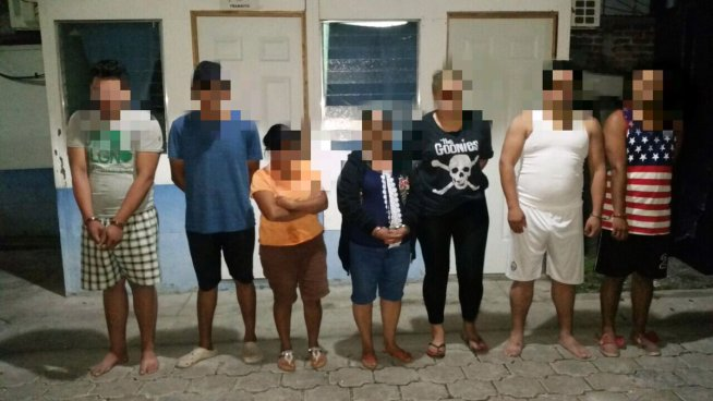 Capturan a siete pandilleros en Lourdes Colon