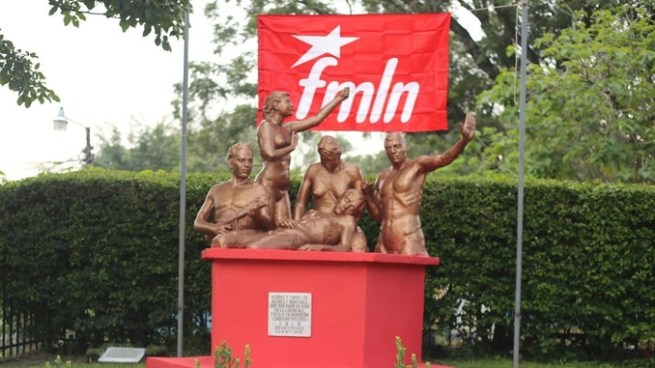 FMLN celebra 37 años de fundación