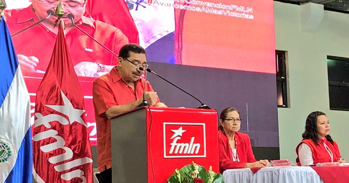 FMLN se «solidariza» y reitera su apoyo total al gobierno de Daniel Ortega
