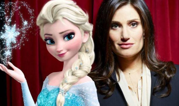 "Idina Menzel dice estar lista para volver a darle voz a ""Elsa"""