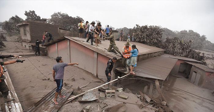 Congreso de Guatemala aprueba subsidio mensual para afectados por la erupción del Volcán de Fuego