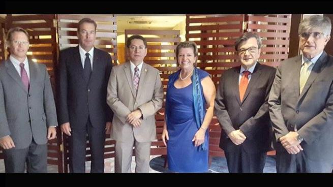 Fiscal general recibe apoyo internacional ante las amenazas de muerte
