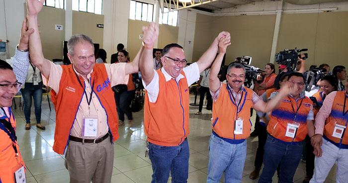 GANA es declarado ganador de las elecciones de concejos municipales de San Francisco Gotera