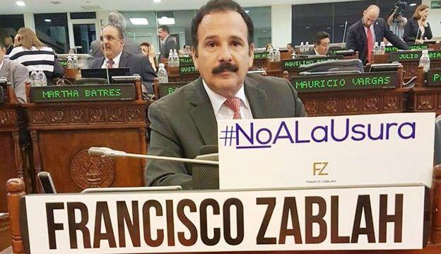 GANA buscará que Francis Zablah reconsidere su renuncia del partido