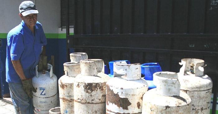 Precios de cilindros de gas propano sufrirán una pequeña disminución en julio