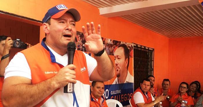 Guillermo Gallegos afirma que GANA no tienen ningún acuerdo de alianza con ARENA