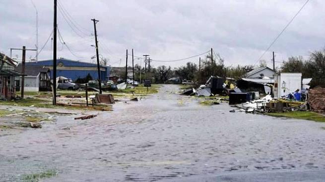 Al menos 5 muertos tras el paso de 'Harvey' en Texas, Estados Unidos