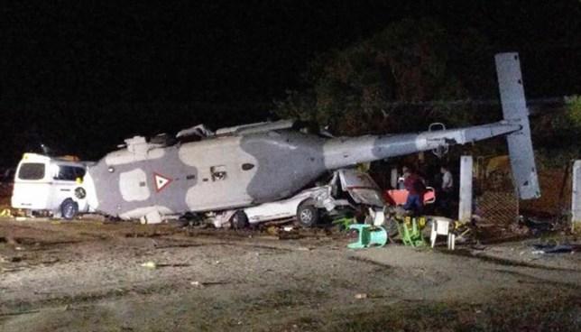 México: 13 muertos por el desplome de helicóptero donde viajaba secretario de gobernación y el gobernador de Oaxaca