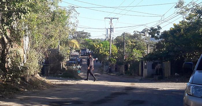 Pandillero adolescente es asesinado a balazos en la colonia Bosques del Río de Soyapango