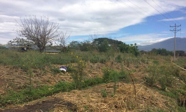 Localizan el cadáver de un hombre en un cañal de Nahuilingo, Sonsonate