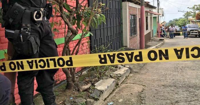 Dos personas han sido asesinadas este día en distintos puntos del departamento de La Libertad