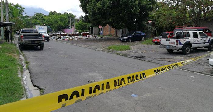 Pandillero esperó que su víctima se bajara del microbús para darle muerte en Cuscatancingo
