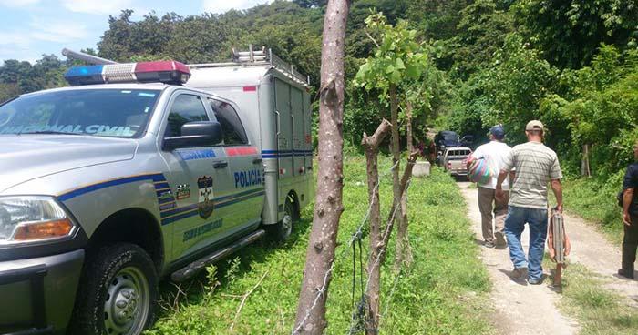 Pandillero abatido a tiros en enfrentamiento con policías en comunidad Madre Selva