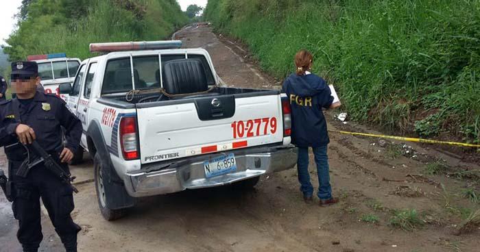 Desconocidos asesinan a agricultor en San Francisco Chinameca, La Paz