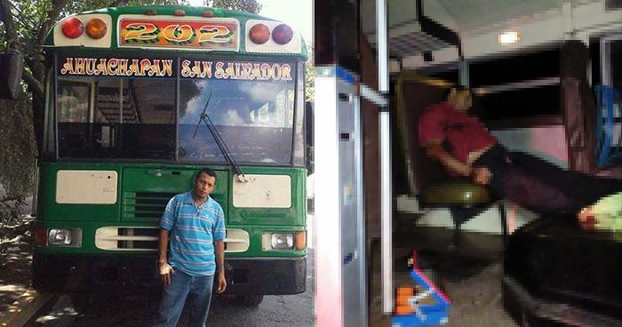 Ruta 202 en paro de labores por el asesinato de uno de sus motoristas en Ahuachapán
