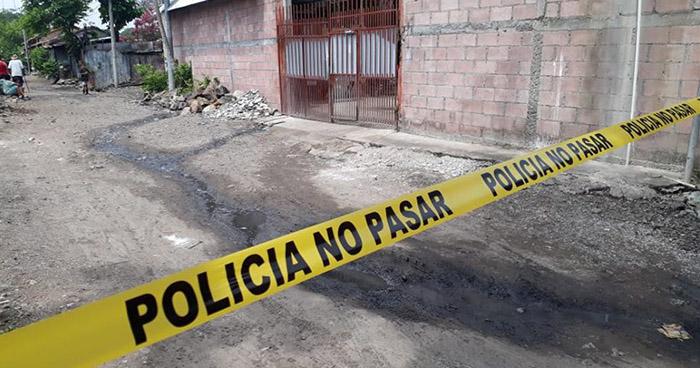 Criminales matan a mujer en el barrio La Esperanza de Pasaquina, La Unión