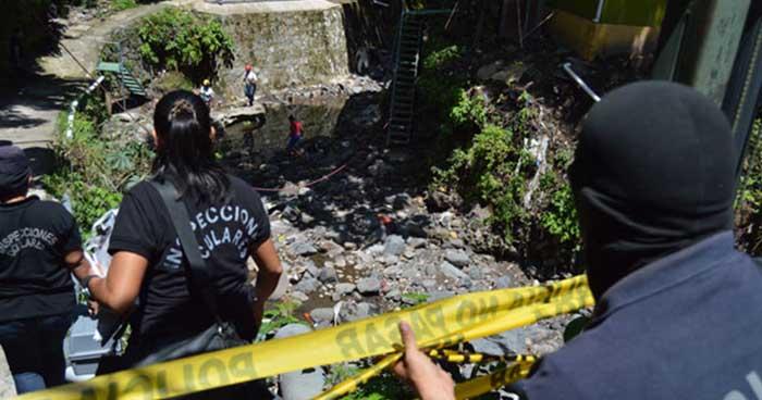 Hallan cadáver en avanzado estado de descomposición en quebrada de La Libertad