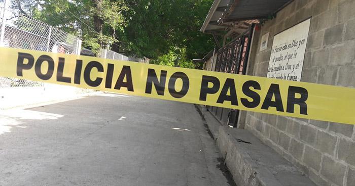 """Eliminan a pandillero alias """"El Mono"""" en San Pedro Masahuat, La Paz"""