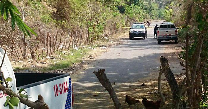 Un joven fue asesinado en la carretera a Ilobasco, en San Rafael Cedros