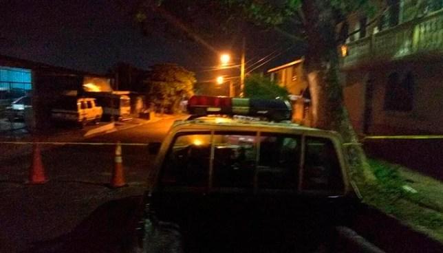 Criminales asesinan a un hombre en colonia La Rábida de San Salvador