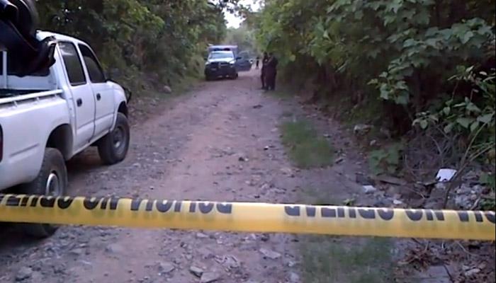 Asesinan a un hombre, lo envuelven en sábanas y abandonan su cadáver en Nejapa