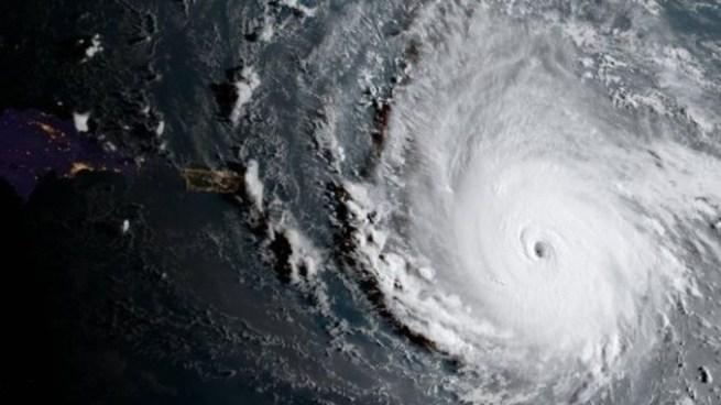 Huracán Irma se muestra en aparatos que son usados para detectar terremotos