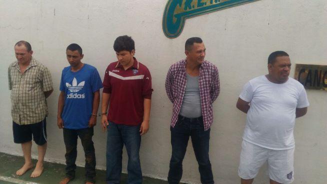 Presentan a 27 miembros de Mara Salvatrucha entre ellos el alcalde de Usulután