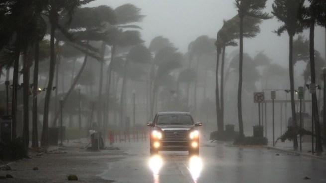 Impactantes imágenes del huracán Irma durante su paso por Florida