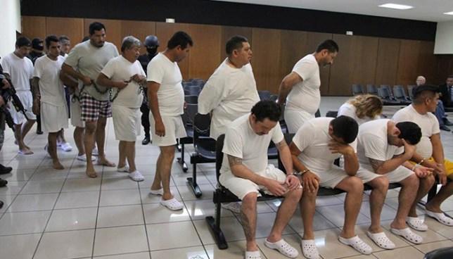 Tribunal decreta detención para 15 imputados ligados en la Operación Cuscatlán