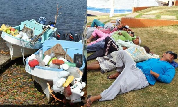 Fiscalía detalla información sobre incautación de lanchas con droga en Sonsonate