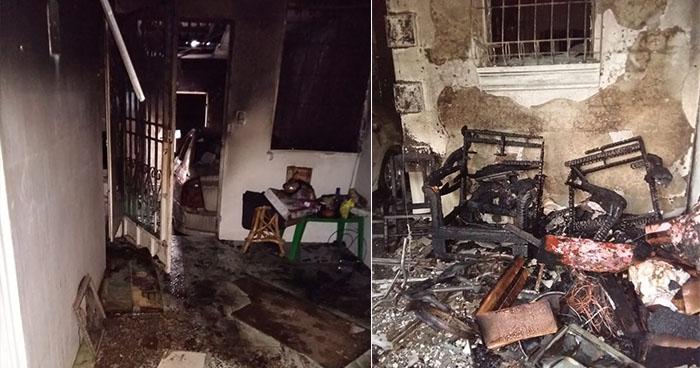 Madre e hija se salvan de morir calcinadas tras un fuerte incendio en Santa Ana