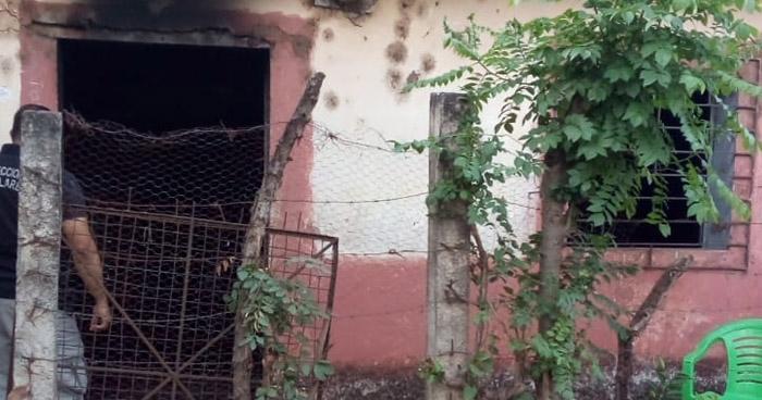Mujer muere al incendiarse su vivienda en Atiquizaya, Ahuachapán
