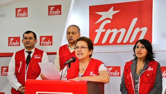 FMLN elegirá a su candidato presidencial el próximo 27 de mayo