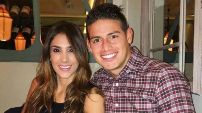 Tras varios años de casados James Rodríguez y Daniela Ospina se separan