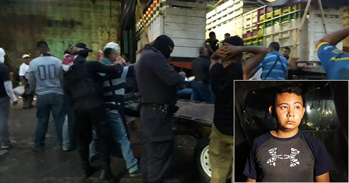 """Capturan en el mercado """"La Tiendona"""" a sujeto que era reclamado por la justicia"""