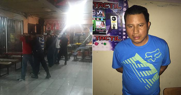 Homicida es capturado durante registro en un establecimiento nocturno de San Salvador