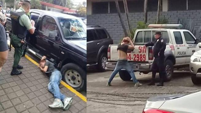 Agentes del CAM en Santa Tecla detienen a ladrón de celulares