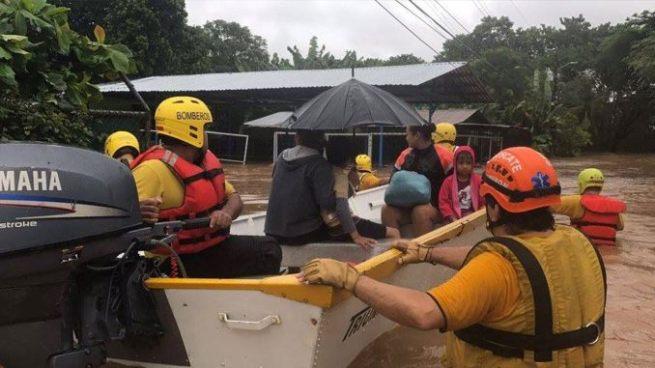 Decretan Estado de Emergencia en Costa Rica por paso de tormenta Nate